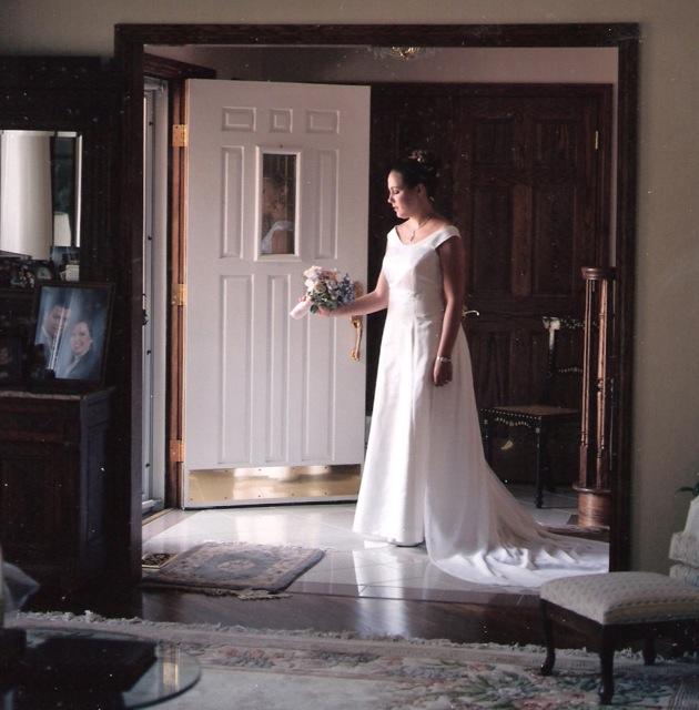 Me with front door