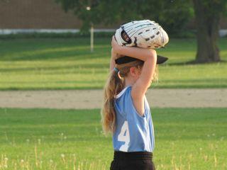 Anastasia softball for activities post
