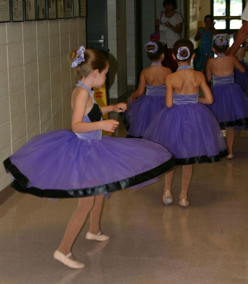 Anastasia recital twirling