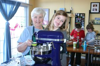 Anastasia and nana making cookies 12_2010
